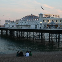 Anglia / Brighton - molo królowej Wiktorii