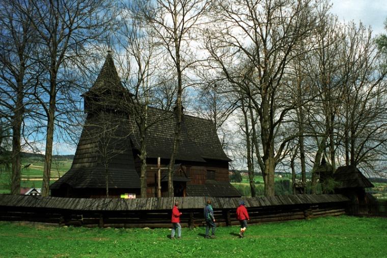 Kościół w Dębnie Podhalańskim, fot Paweł Wroński