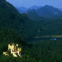 Niemcy / Bawaria - profity z królewskiego szaleństwa