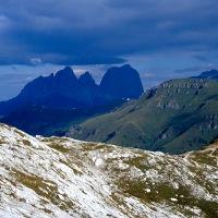 Włochy - Jan Paweł II w Dolomitach