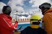 panorama na Alpy Otztalskie