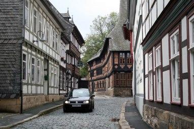 Uliczki Goslar, fot. Paweł Wroński