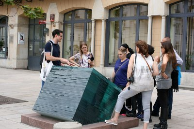 Grupa z Izraela, uczestnicy POT-owskiego study-tour w Warszawie, fot. Paweł Wroński