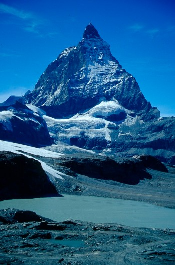 Matterhorn, północna ściana, fot. Paweł Wroński