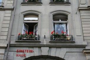 Einsteinhaus przy Kramgasse 49 w Bernie, fot. Paweł Wroński