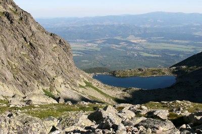 Tatry Wysokie, wycieczka na Gerlach (2655 m) z Doliny Wielickiej do Doliny Batyżowieckiej, 1 sierpnia 2015. Fot. Paweł Wroński