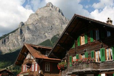 Kandersteg, góra domowa - Bire (2502 m), fot. Paweł Wroński