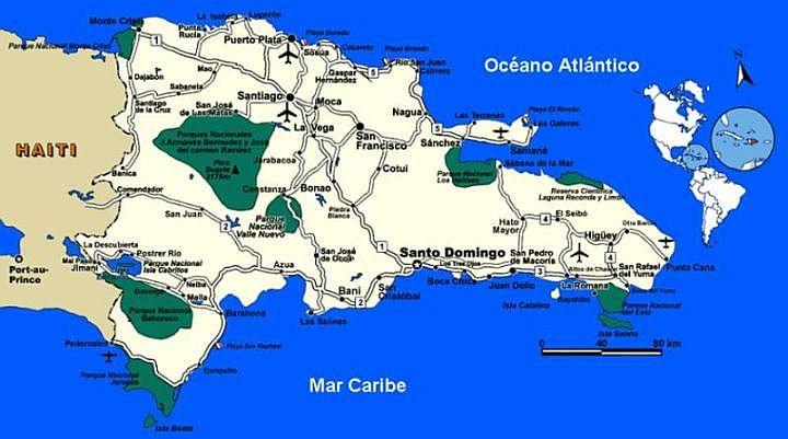Parki Narodowe (Parque nacional) na Dominikanie