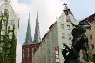 Berlin, Nikolaiviertel, fot. Paweł Wroński