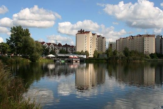 Warszawa, Balaton na Gocławiu, fot. Paweł Wroński