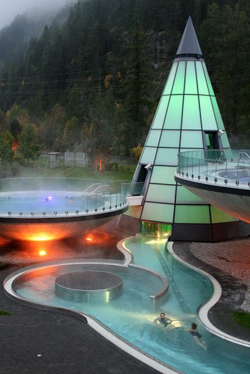 Aqua Dome, fot. Paweł Wroński