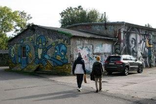 Berlin, Revaler Strasse, fot. Paweł Wroński