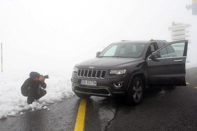 Jeepem do Tyrolu (Tomek w akcji), fot. Paweł Wroński