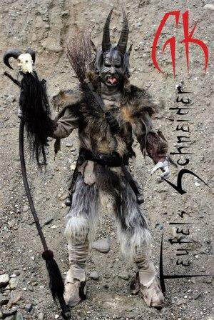 Projekt diabelskiego kostiumu Petera Kocha z katalogu 'Die Gerberei Koch'