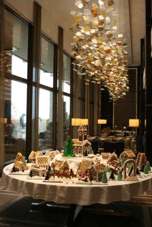 Budapeszt, Hotel Hilton - dekoracja świąteczna, fot. Paweł Wroński