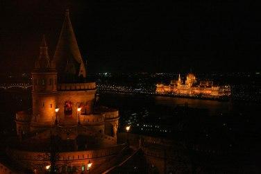 Budapeszt nocą, fot. Paweł Wróński