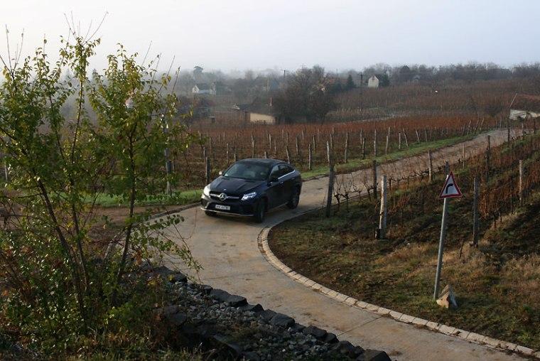 GLE 350D 4Matic Coupe w Somló, fot. Paweł Wroński