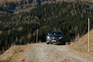 Mercedesem GLE 350D 4Matic w Heiligenblut, fot. Paweł Wroński