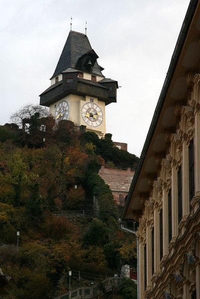 Schlossberg w Grazu, fot. Paweł Wroński
