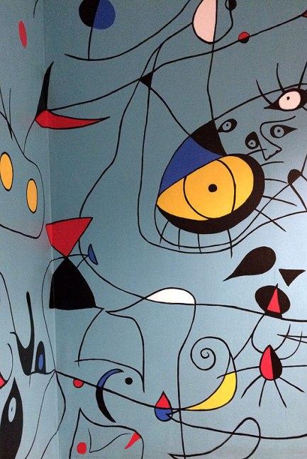 Malowidła à la Joan Miró, fot. Paweł Wroński