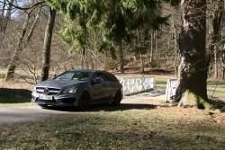 Mercedes CLA 45 AMG, fot. Paweł Wroński