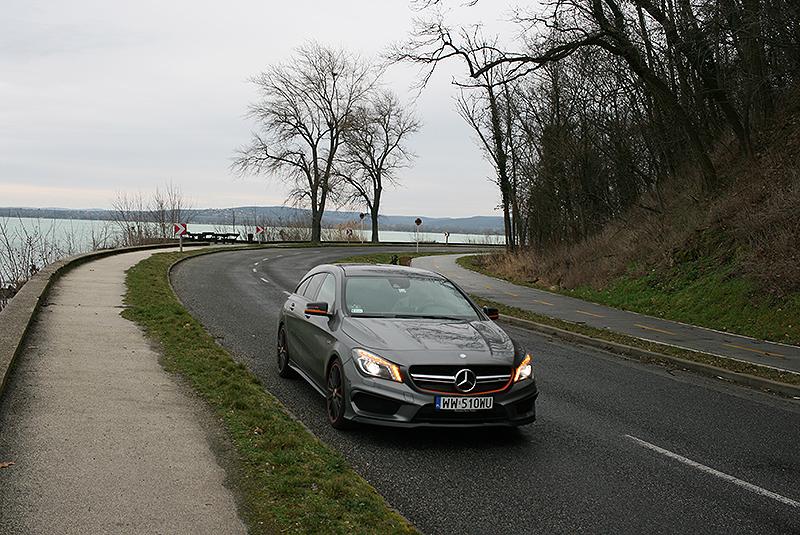 Mercedesem CLA 45 AMG przez Węgry, fot. Paweł Wroński