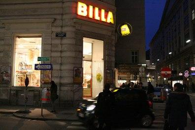 Któż nie zna loga Billi; sklepy tej sieci pojawiły się w Polsce jako pierwsze supermarkety, już w 1991 roku, fot. Paweł Wroński