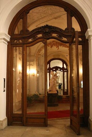 We wnętrzach Pałacu Kińskich, fot. Paweł Wroński