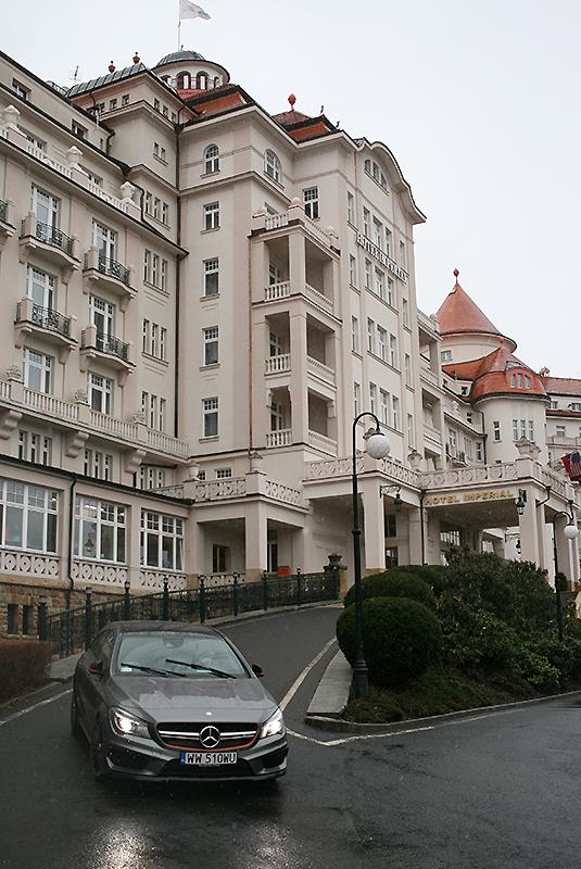 Hotel Imperial, fot. Paweł Wroński / Kliknij w zdjęcie - pobierz opis modelu CLA 45 AMG (materiały prasowe producenta z 2013 r.)