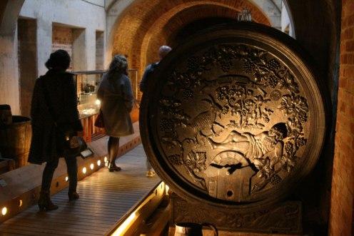 W zamienionym na muzeum historyczne kościele dominikanów w Krems, fot. Paweł Wroński