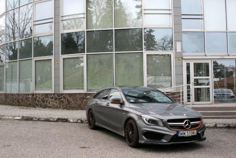 CLA 45 AMG na Slavinie w Bratysławie, fot. Paweł Wroński