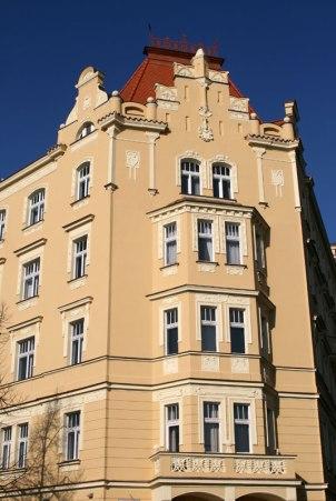 Kamienica przy Placu Jerzego z Podiebradów, fot. Paweł Wroński