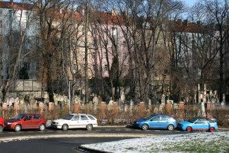 Praska wieża TV zajmuje część dawnego cmentarza żydowksiego, fot. Paweł Wroński
