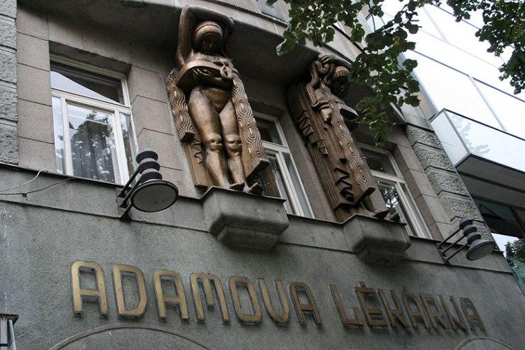 Adamova lékárna przy Placu Waclawa, fot. Paweł Wroński