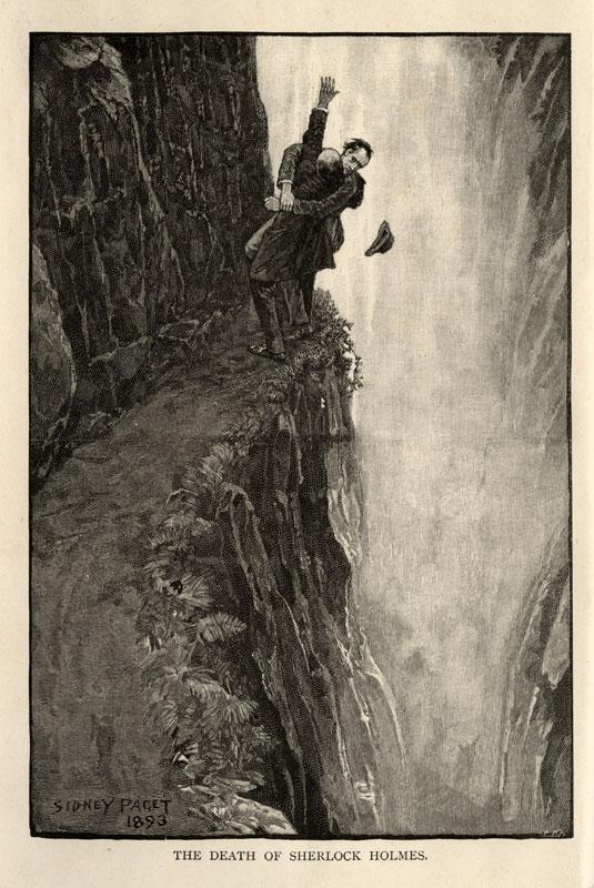 Ilustracja noweli z 1893 roku; źródło: Wikipedia (kliknij w obrazek, kryje link do źródła)