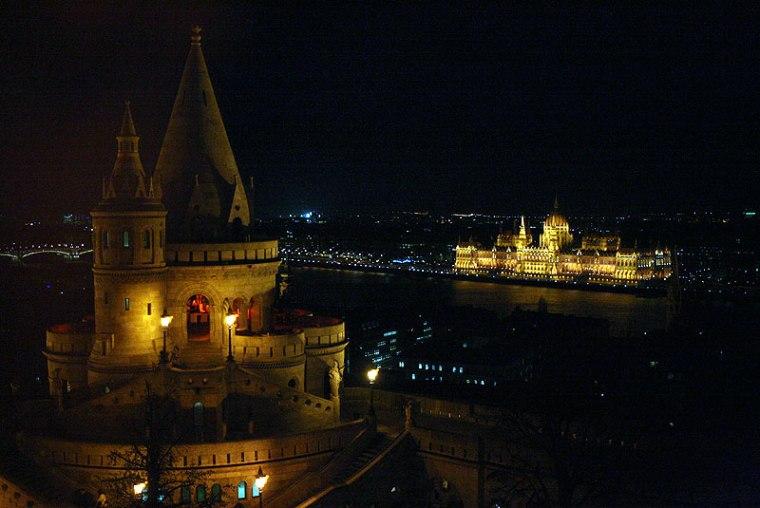 Budapeszt z Hotelu Hilton, fot. Paweł Wroński