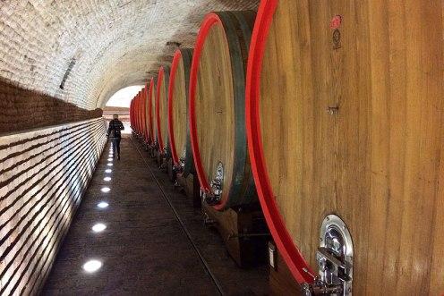 Stare, odrestaurowane piwnice winiarni Belje, fot. Paweł Wroński