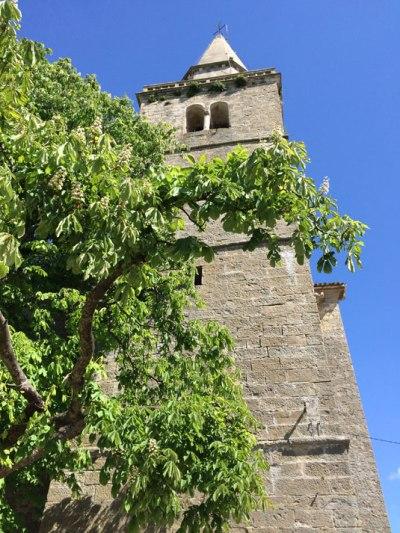 Grožnjan.Wieża średniowiecznej fary, fot Paweł Wroński