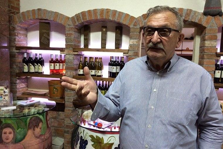 Vlado Krauthaker, prominentny winiarz ze Sławonii, fot. Paweł Wroński