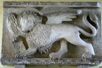 Motovun. Lew św. Marka dobitnie świadczy o weneckich wpływach pod jakimi była Istria przez stulecia, fot. Paweł Wroński