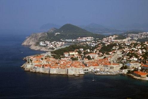 Wybrzeże Dalmacji, panorama ze wzgórza Srđ (415 m), fot. Paweł Wroński