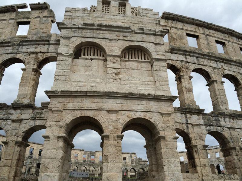 Koloseum w Puli, fot. Paweł Wroński