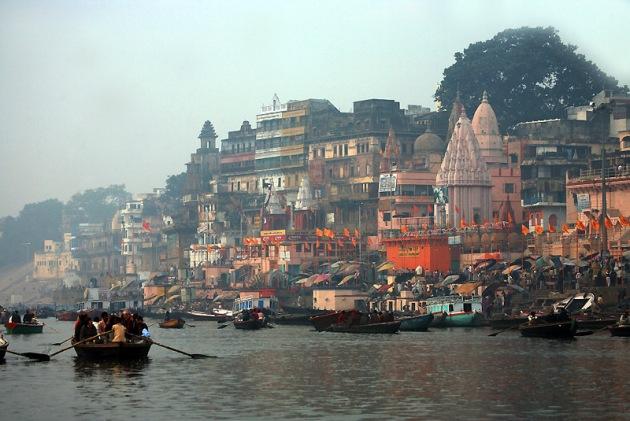 Poranek w Waranasi (Benares), fot. Paweł Wroński