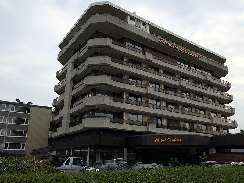 Hotel Seelust w Cuxhaven, fot. Paweł Wroński