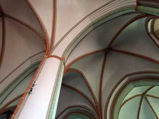 Dolna Saksonia, sklepienie katedry w Lüneburgu, fot. Paweł Wroński
