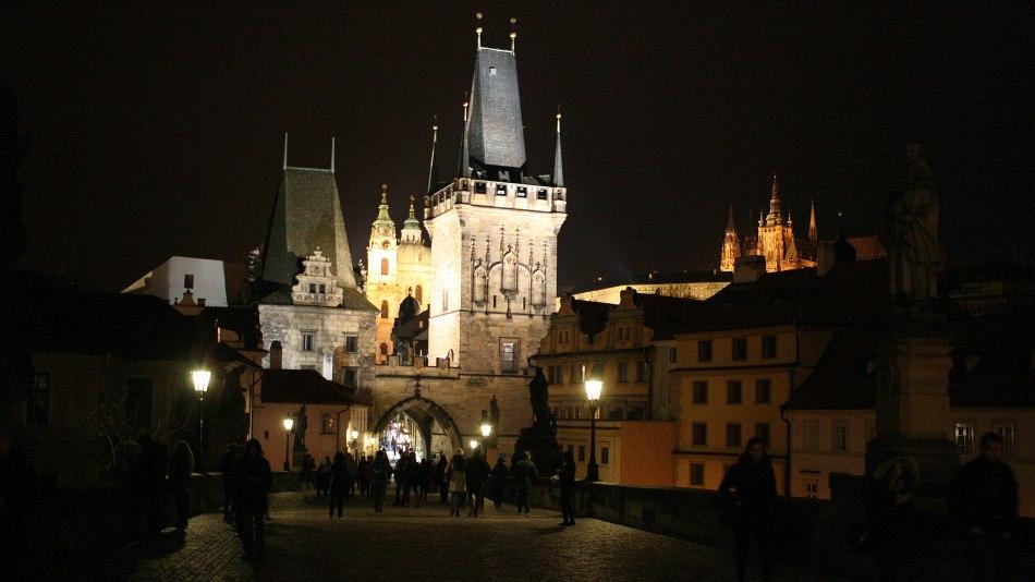 Symbolami Pragi Karola IV są Most Karola i Hradczany z archikatedrą św. Wita, fot. Paweł Wroński