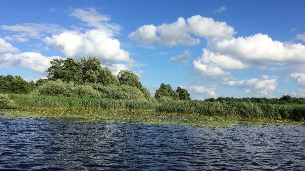 Rzeka Hamme pod Worpswede, fot. Paweł Wroński