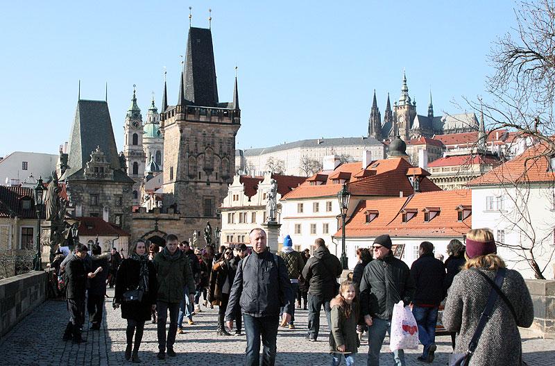 Mostowe wieże bramne od strony zachodniej (Mala Strana), fot. Paweł Wroński