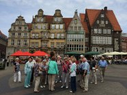 Na rynku w Bremie, fot. Paweł Wroński