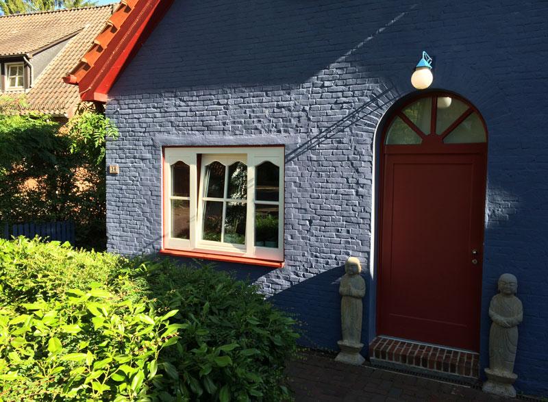 Worpswede, dom i atelier przy głównej ulicy, fot. Paweł Wroński